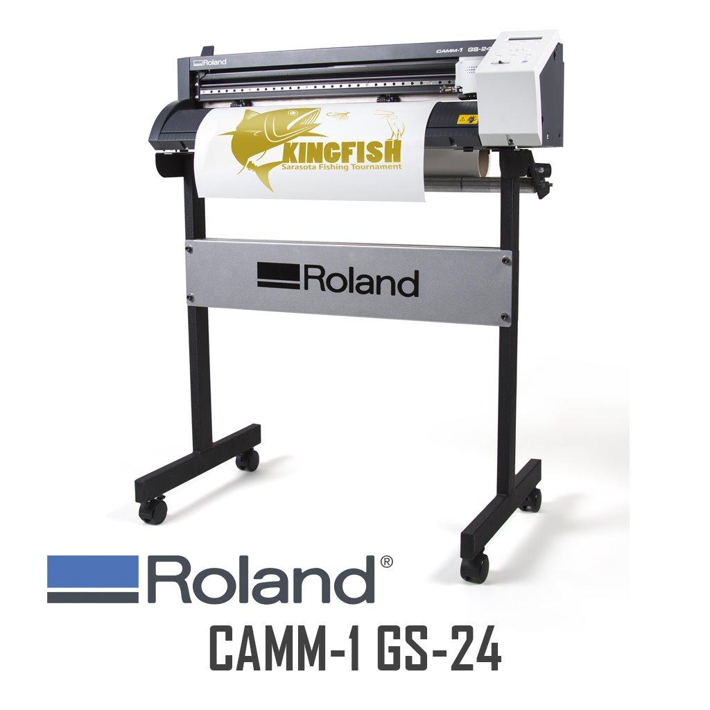 RDG GS24 PLOTTER,,ROLAND,roland, gs24, gs-24, vinyl cutter