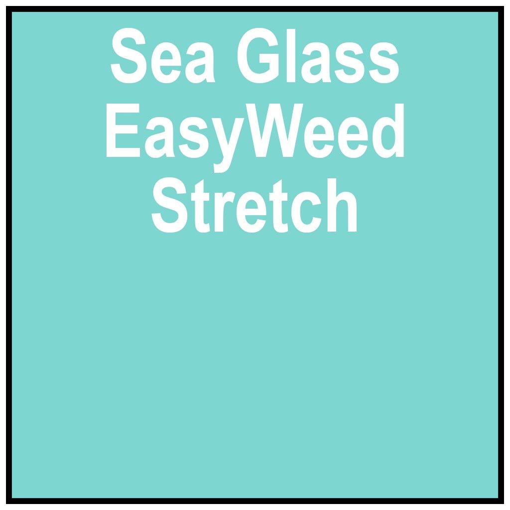 PSISEREWSTRETCHSEAGLASS15,,SISER,HTV, Iron-on, Easyweed
