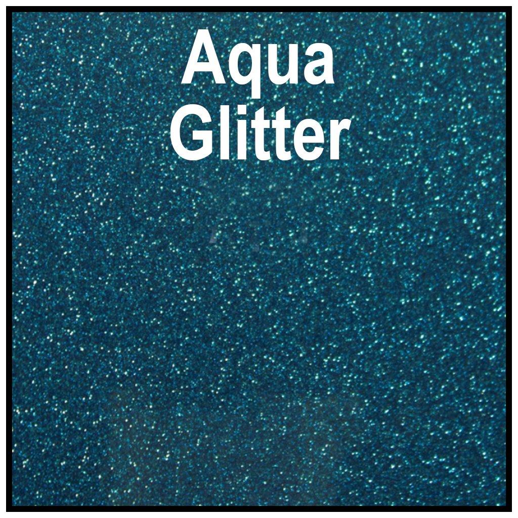 PSISERGLTRAQUA20,,SISER,HTV, Iron-on, Glitter, Heat Transfer