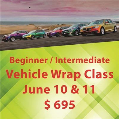 Vehicle Wrap Class - June 10 & 11 ($695)