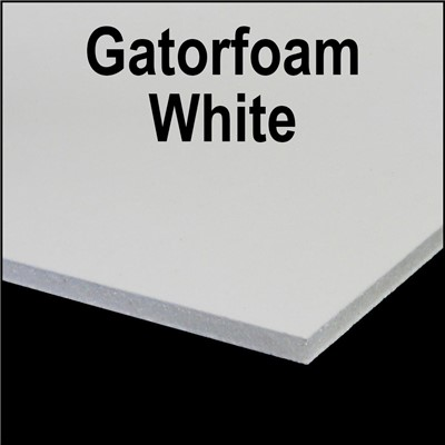 GATORFOAM 3/16in x 48in x 96in WHITE