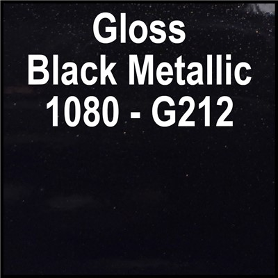 3M 60in 2080-G212 GLOSS BLACK METALLIC