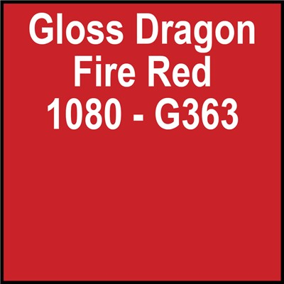3M 60in 1080-G363 GLOSS DRAGON FIRE RED