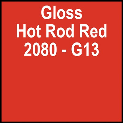 3M 60in 2080-G13 GLOSS HOT ROD RED