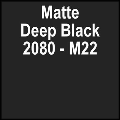 3M 60in 2080-M22 Matte Deep Black