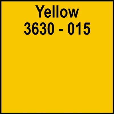 48in 3630-015 YELLOW Translucent 3M