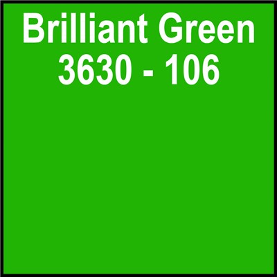 48in 3630-106 BRILLIANT GREEN Translucen