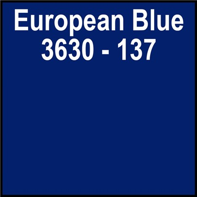 48in 3630-137 EUROPEAN BLUE Translucent