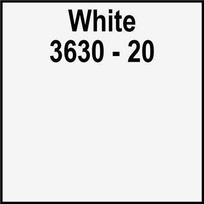 48in 3630-20 WHITE Translucent 3M