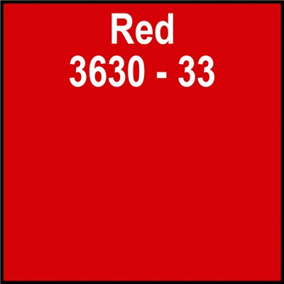 48in 3630-33 RED Translucent 3M