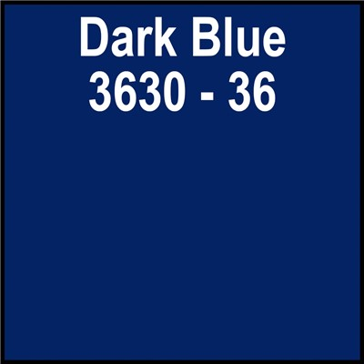 48in 3630-36  DARK BLUE Translucent 3M