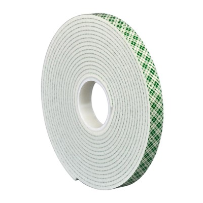 3M 1/8x1 4008 DF FOAM TAPE ROLL/36YD