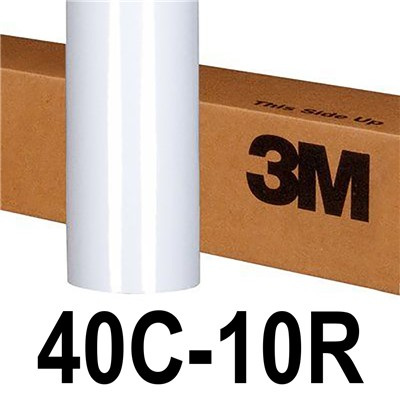3M 40C-10R 54in x 50yd GLOSS WHT COMPLY