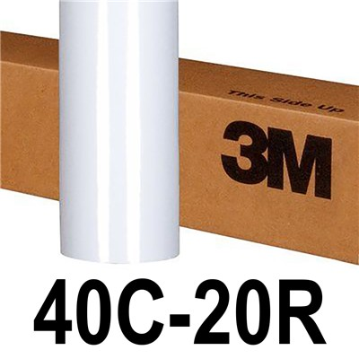 3M 40C-20R 54in x 50yd MATTE WHT COMPLY