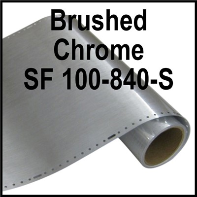 SF100-840-S Brushed Chrome 24in wide