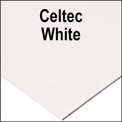 CELTEC PVC 12.7mm x 48in x 96in WHITE