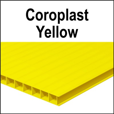 Cor-x YELLOW 24x18x4mm (5/32) 18in flute