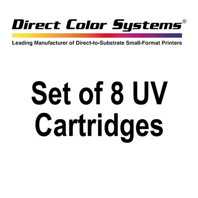 DCS AC-UVDJ-CARTS Set of 8 UV Cartridges