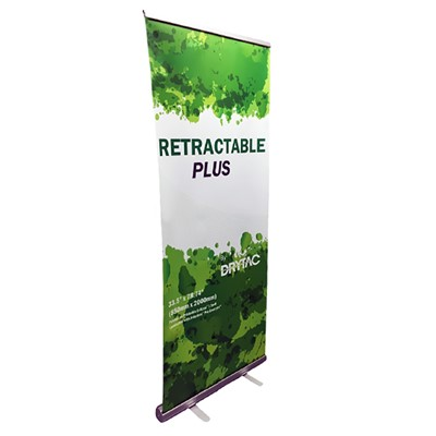 "33 1/2"" banner stand PLUS"