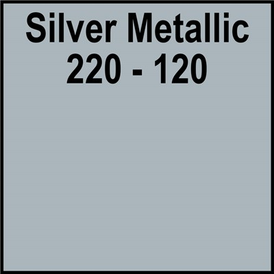 30in 220-120 METALLIC SILVER Gerber