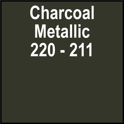 15in 220-211 METALLIC CHARCOAL Gerber