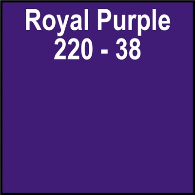 24in 220-38 ROYAL PURPLE Paper Back Gerb