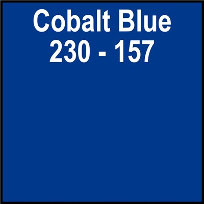 30in 230-157 COBALT BLUE Translucent Ger