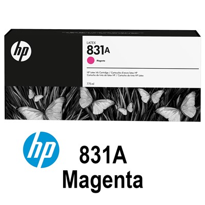 HP 831A 775ml MAGENTA Latex Ink for L300