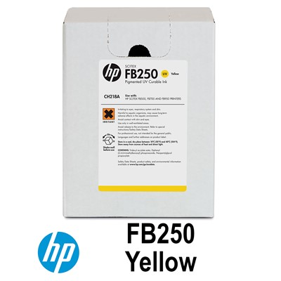HP FB250 YELLOW INK CH218A