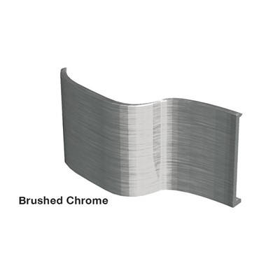 JEWELITE BRUSHED CHROME 1in x 150ft roll