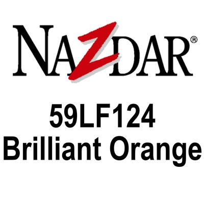 59LF124 BRILLIANT ORANGE Gloss Enamel Kg