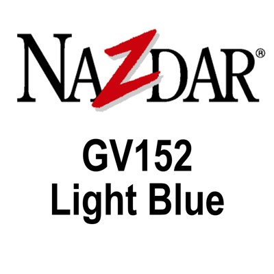 NAZDAR GV152 Gloss Ink  LIGHT BLUE Kg