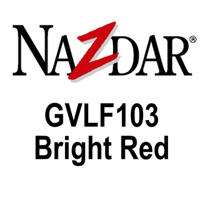 NAZDAR GVLF103 Gloss Ink  BRIGHT RED Kg