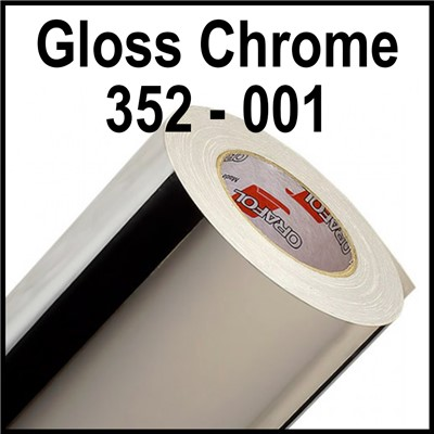 15in 352-001 GLOSS CHROME 1mil