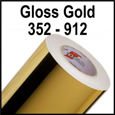 15in 352-912 GLOSS GOLD 2-Sided 2 mil