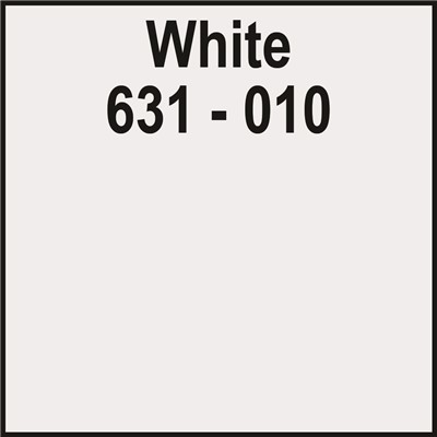 24in x 50yd 631-010 WHITE Unpunched