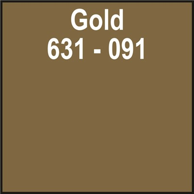 24in x 50yd 631-091 GOLD Unpunched