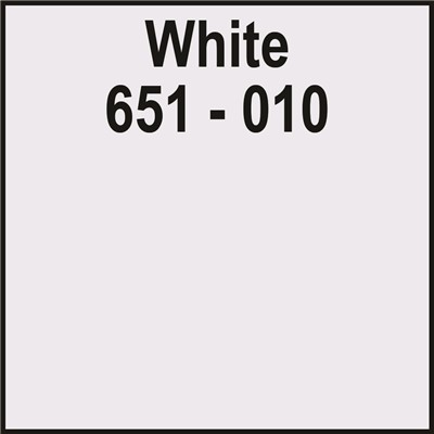 24in x 10yd 651-010 WHITE Unpunched