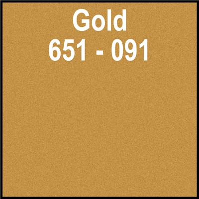 24in x 10yd 651-091 GOLD Unpunched