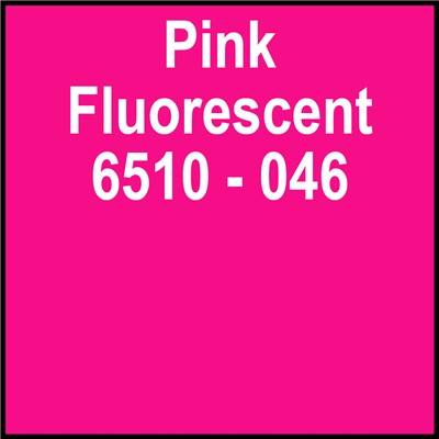 15in 6510-046 PINK FLUORESCENT Oracal