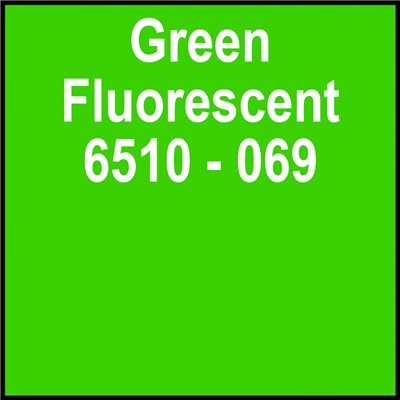 15in 6510-069 GREEN FLUORESCENT Oracal