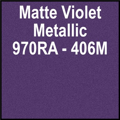 970RA-406M 60in MATTE VIOLET METALLIC