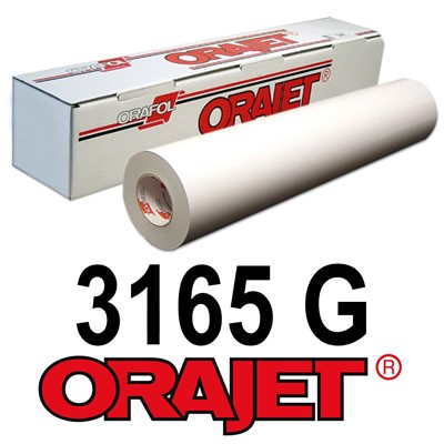 Orajet 3165G 54in x 150ft GLOSS White