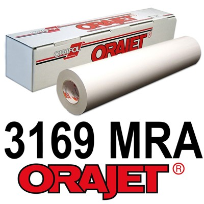 Orajet 3169MRA 54in x 150ft MATTE White