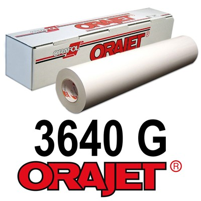 Orajet 3640G 54in x 150ft GLOSS White