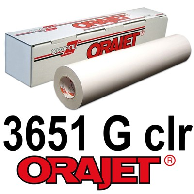 Orajet 3651G 54in x150ft GLOSS Clear