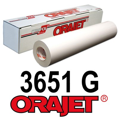 Orajet 3651G 54in x150ft GLOSS White
