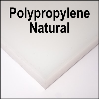 SR POLYPROPYLENE .250x48x96 NATURAL