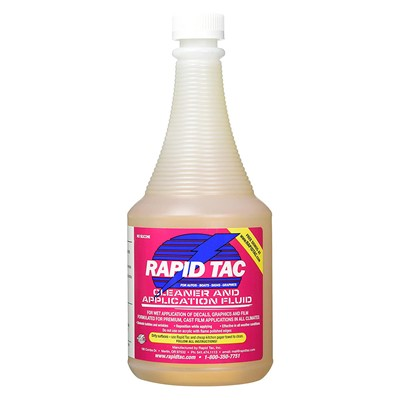 RAPID TAC APPLICATION FLUID 30oz W/SPRAY