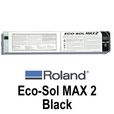 Eco-Sol MAX 2 Ink, 440cc BLACK Cartridge